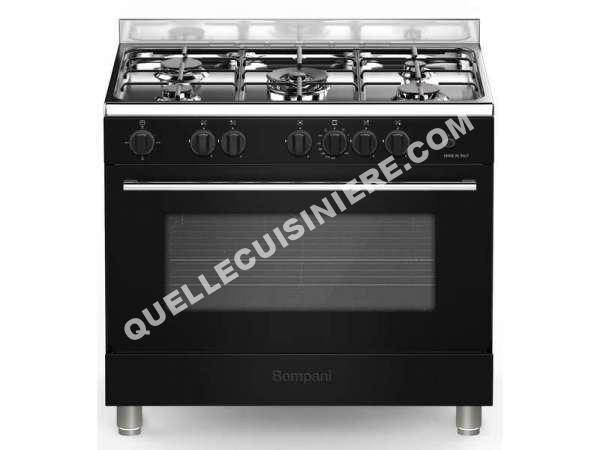 cuisiniere bompani cuisini re gaz 90 cm cob 96 gnr au. Black Bedroom Furniture Sets. Home Design Ideas