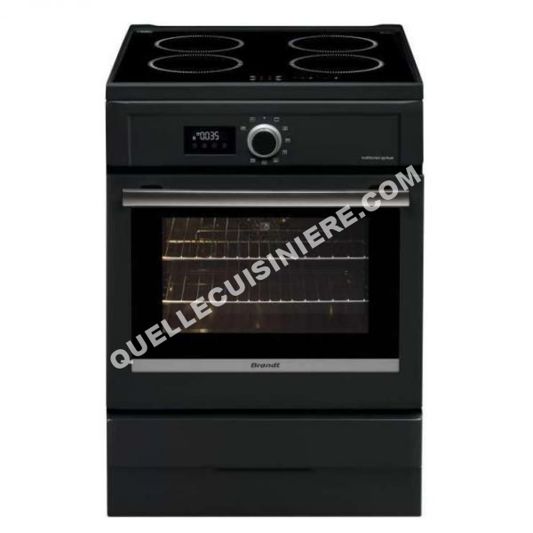 cuisiniere brandt bci6656a cuisini re 60cm four pyrolyse. Black Bedroom Furniture Sets. Home Design Ideas