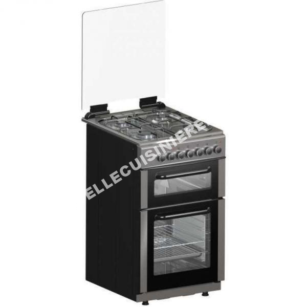 cuisiniere continental edison cecdf5060ix cuisiniere gaz au meilleur prix. Black Bedroom Furniture Sets. Home Design Ideas