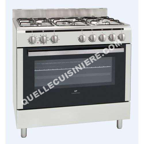 cuisiniere continental edison gazini re cecp9060mcr au meilleur prix. Black Bedroom Furniture Sets. Home Design Ideas