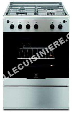 cuisiniere electrolux cuisini re induction ekm60300vx au meilleur prix. Black Bedroom Furniture Sets. Home Design Ideas