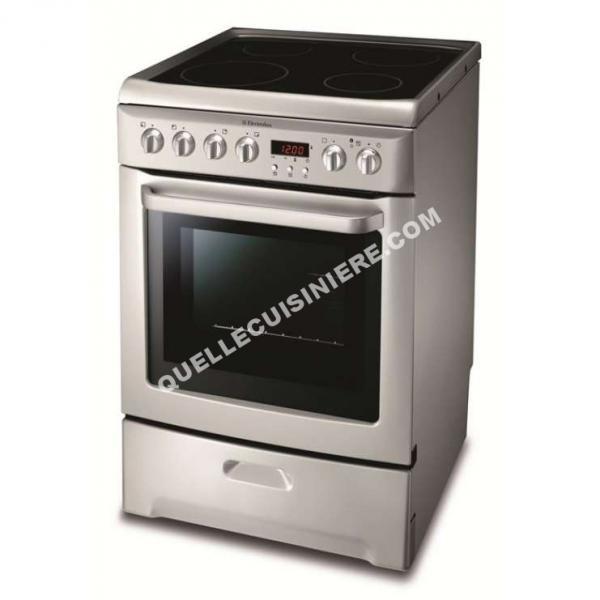cuisiniere electrolux ekc605302s au meilleur prix. Black Bedroom Furniture Sets. Home Design Ideas
