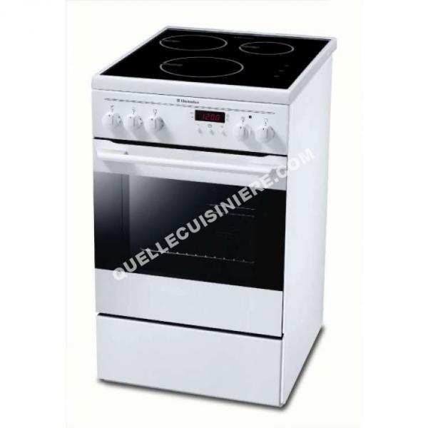 cuisiniere electrolux ekd513504w au meilleur prix. Black Bedroom Furniture Sets. Home Design Ideas
