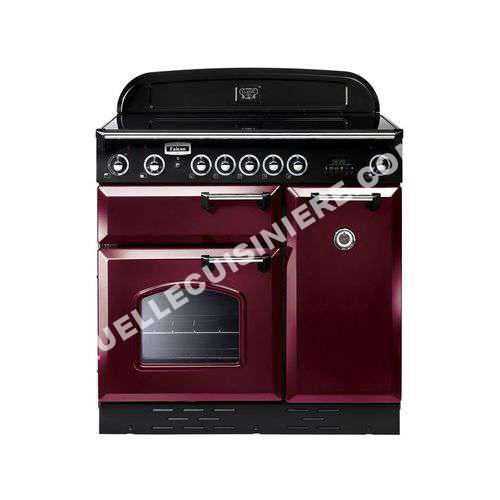cuisiniere falcon cuisini re gaz clas90dfcyb rouge airelle. Black Bedroom Furniture Sets. Home Design Ideas