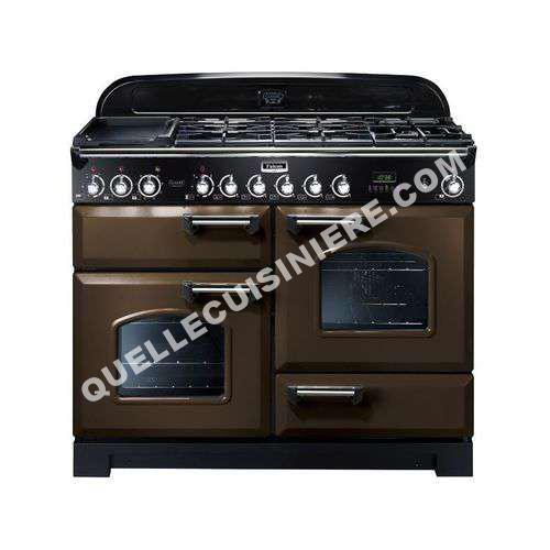 cuisiniere falcon piano de cuisson classic deluxe 110 chocolat chrom au meill. Black Bedroom Furniture Sets. Home Design Ideas
