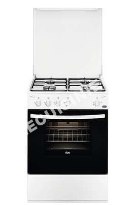 cuisiniere faure gaziniere fcg61001wa au meilleur prix. Black Bedroom Furniture Sets. Home Design Ideas