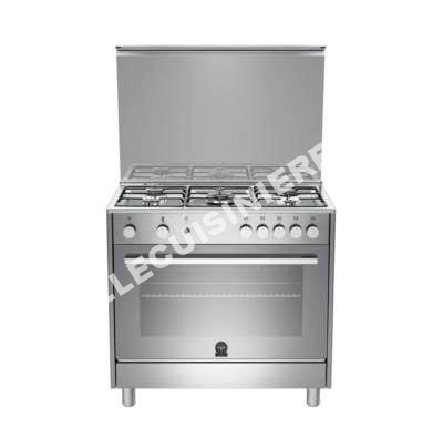 cuisiniere germania cuisini re gaz la tus95c21dx b inox au meilleur prix. Black Bedroom Furniture Sets. Home Design Ideas