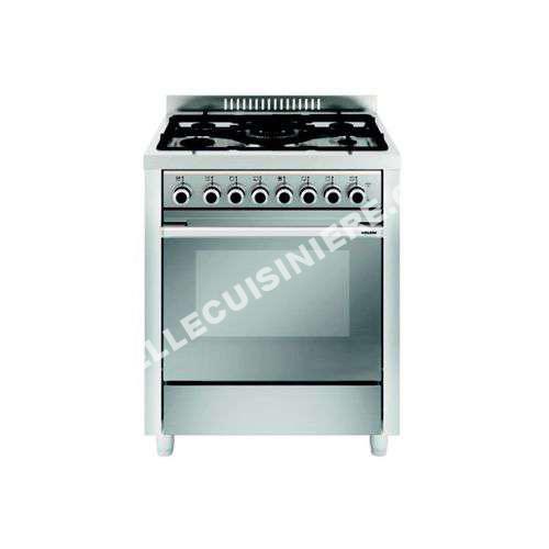 cuisiniere glem cuisini re gaz gx76cqix au meilleur prix. Black Bedroom Furniture Sets. Home Design Ideas