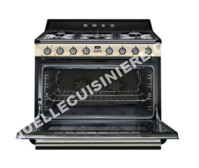 cuisiniere smeg cuisini re gaz tr90p1 au meilleur prix. Black Bedroom Furniture Sets. Home Design Ideas