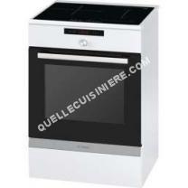 Cuisinière à induction  hca857320f cuisinière électrique 66l 4 feux inductions bla serie 6