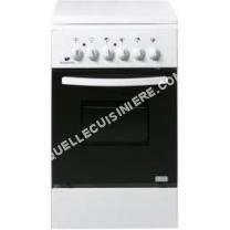 nouveautes Continental Edison CEFM5060SC2 Cuisinière table mixte gaz / electrique-4 foyers- Four électrique-Net manuel-50L-A-L50 x H86cm-Bla